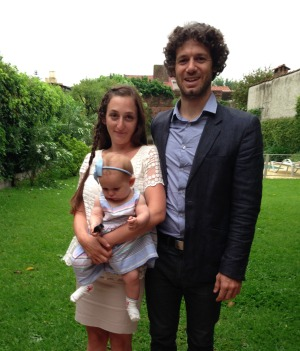 Fede and family at a recent wedding