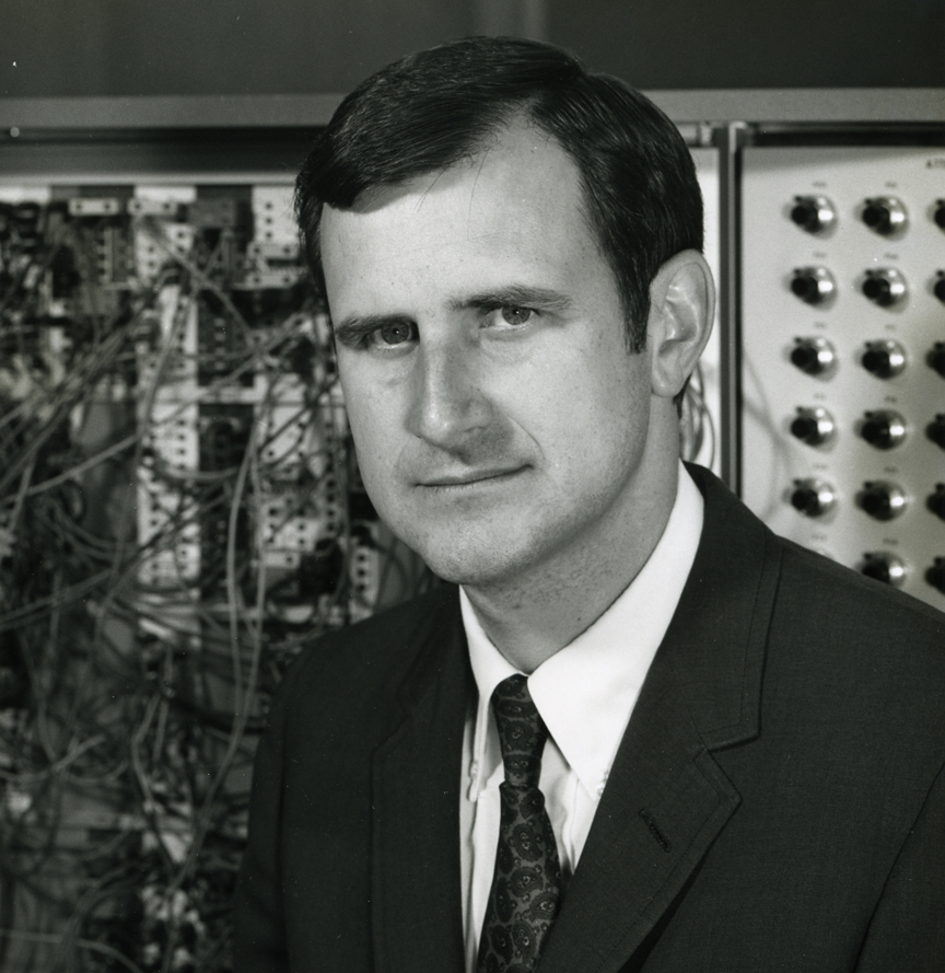 Professor Duncan Mellichamp early in his career (1969) in the Chemical Engineering Department at UC Santa Barbara. Photo courtesy of UC Santa Barbara