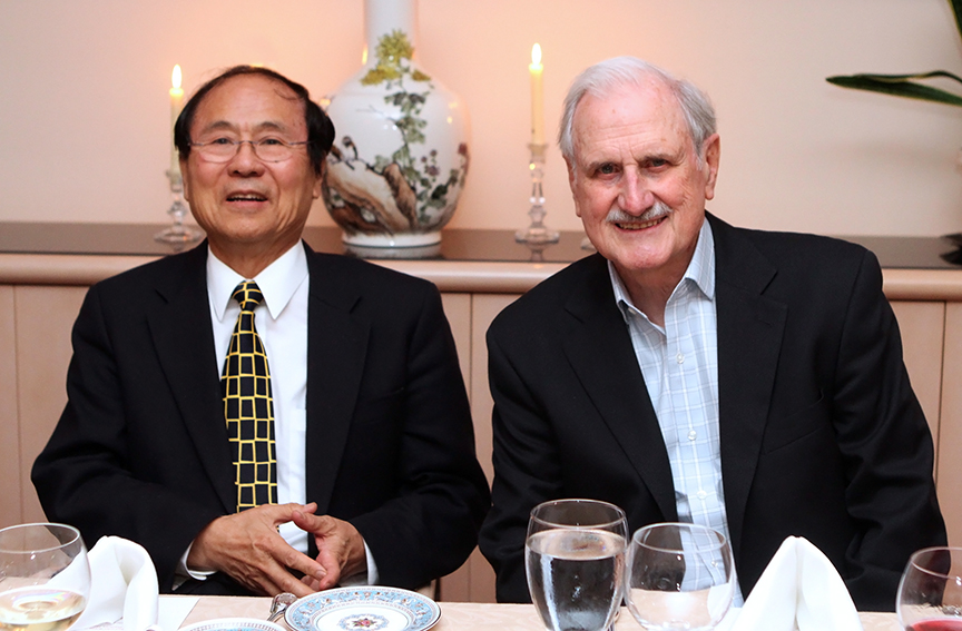 Dr. Duncan Mellichamp served as special assistant for long-range planning to UC Santa Barbara Chancellor Henry Yang. Photo courtesy of UC Santa Barbara