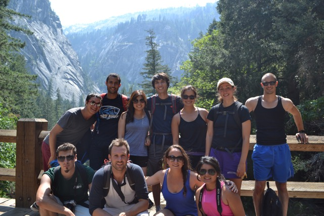 Yosemite Summer 2015 trip with UCSB and new friends. #yesnewfriends