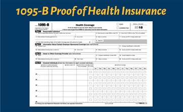 1095-B Proof of Health Insurance