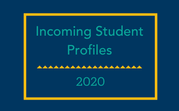 2020 incoming student profiles thumbnail