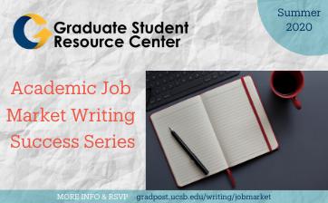 Academic Job Search Series FlyerB -Summer 2020 Thumbnail