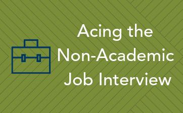 Acing Non-Academic Job interview thumbnail