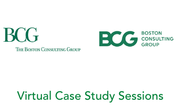 BCG Virtual Case Study Sessions Thumbnail
