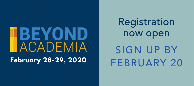 Beyond Academia Sign Up