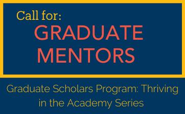 Call for Graduate Mentors