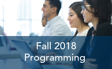Fall 2018 Programming Overview featured image