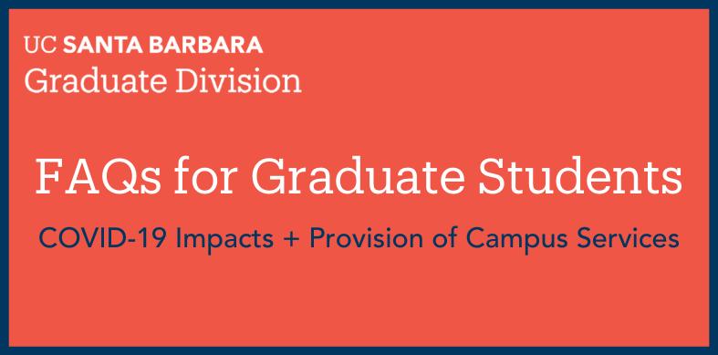 FAQ Grad Student + COVID-10 Slider (2)