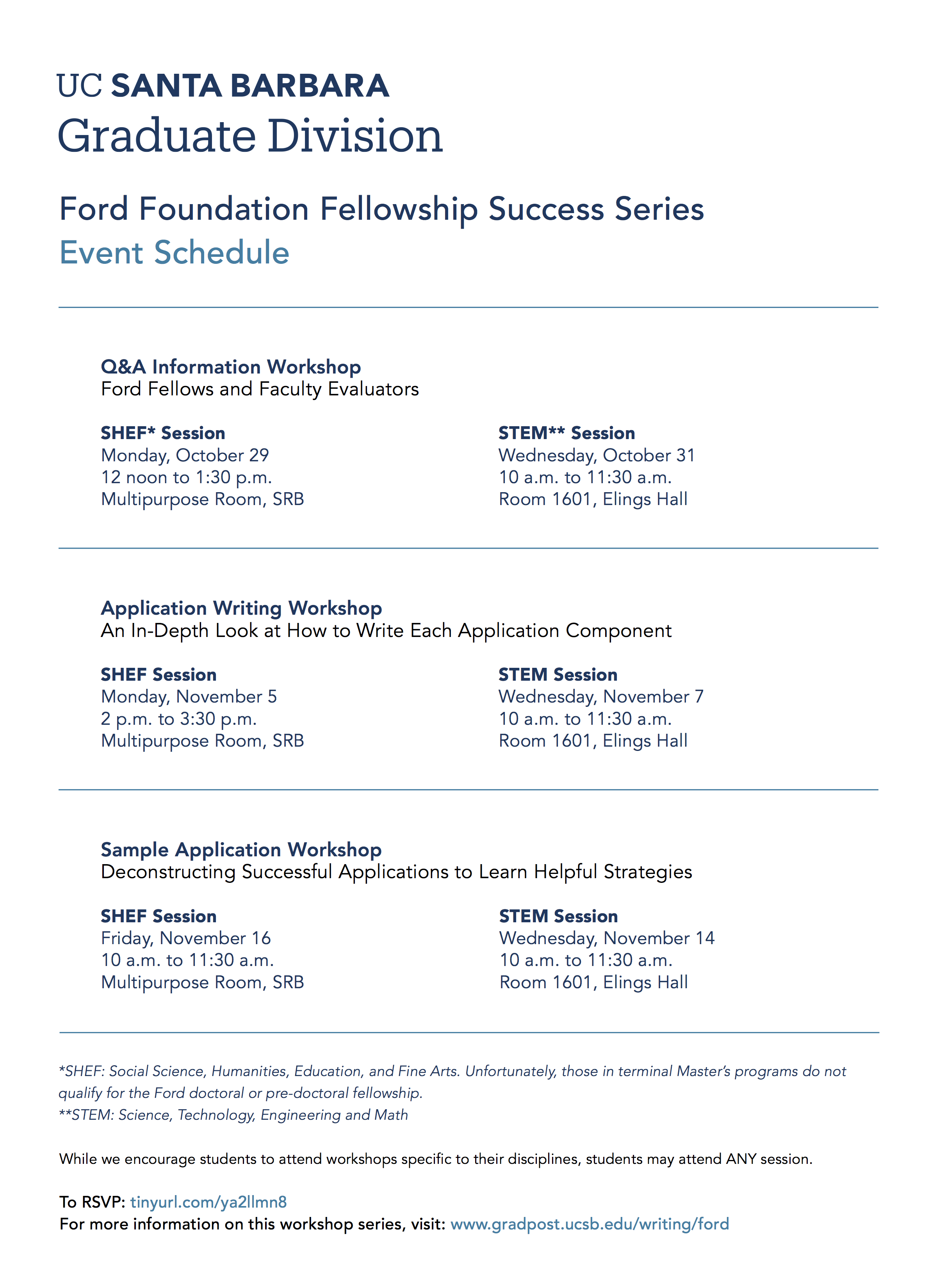 Ford Foundation Dissertation Fellowship