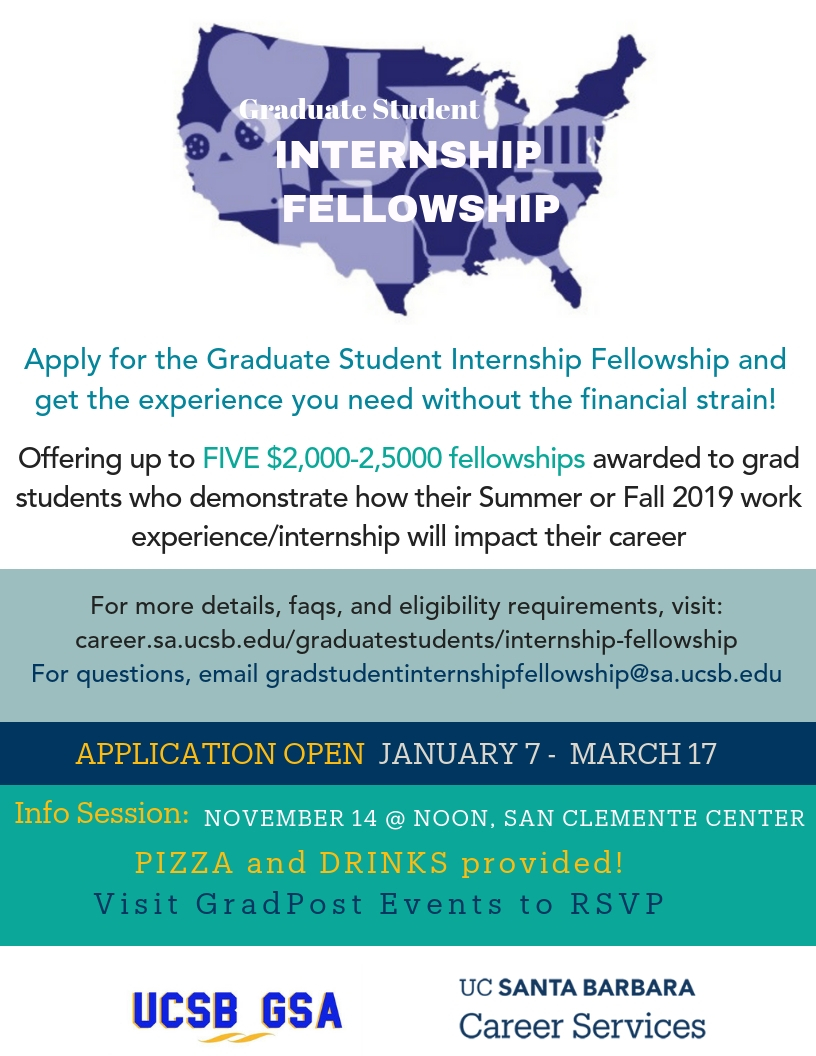 Internship Fellowship Information Session