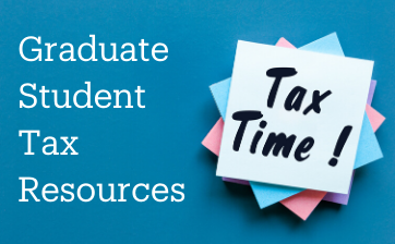Graduate Student Tax Resources thumbnail