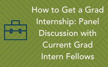 Internship fellowship panel discussion - Thumbnail