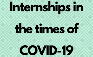 Internships in the times of COVID-19