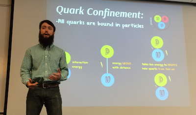 Jason Wein discusses his new theoretical model for analyzing the problem of quark confinement