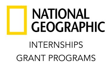 NATIONAL GEOGRAPHIC internships thumbnail