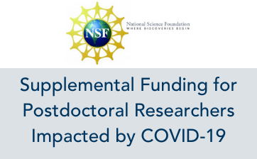 NSF Supplemental COVID-19 Funds Thumbnail