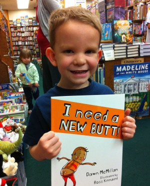 Phill's son Isaac finds an interesting book at the bookstore