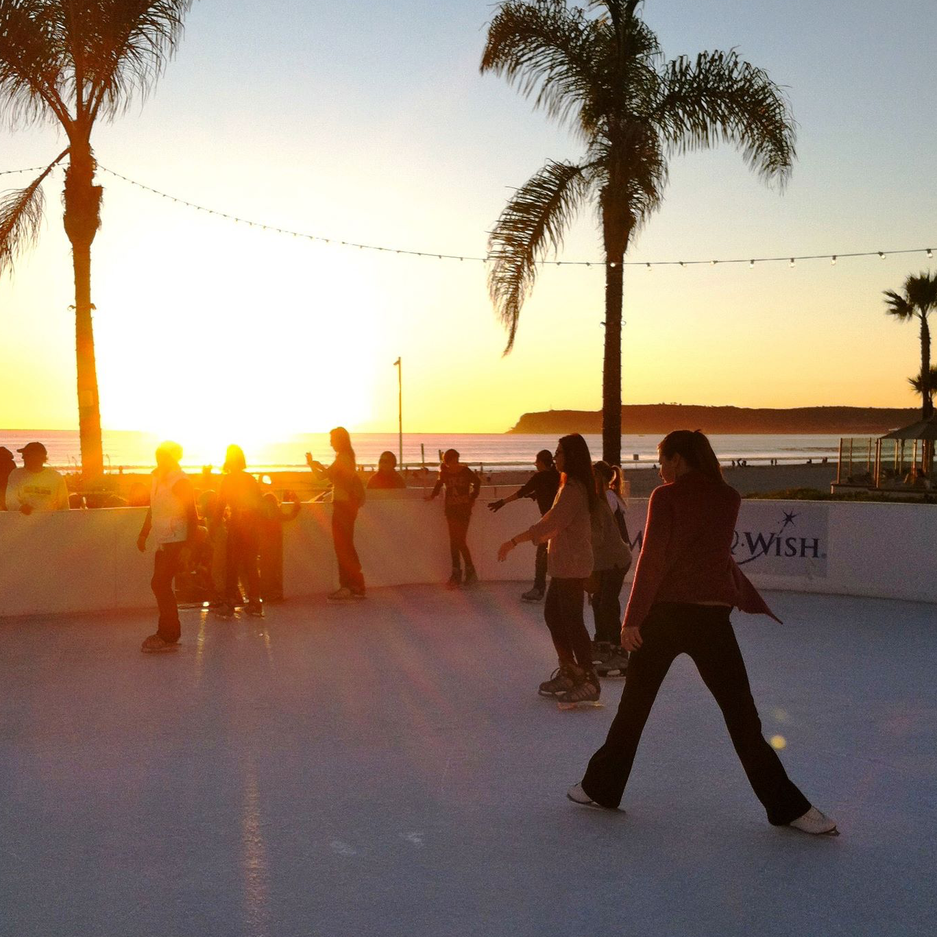 Skating on the beach: Only in San Diego!