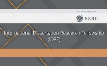 SSRC Mellon IDRF Thumbnail