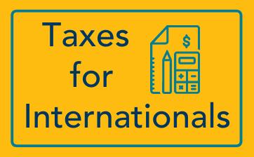 Tax Info for Internationals