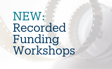 Thumbnail Recordings of Funding Workshops Banner