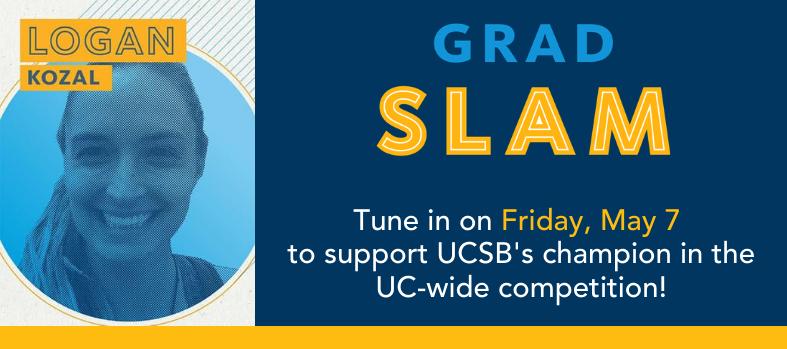 UC-wide Grad Slam banner