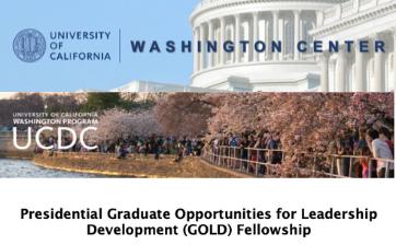 UCDC GOLD Fellowship Thumbnail
