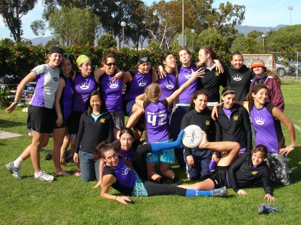 A favorite team picture with the UC Berkeley Pie Queens.  Sara Weinstein is in the second row, far right, the one with the dreads. Yes, dreadlocks.