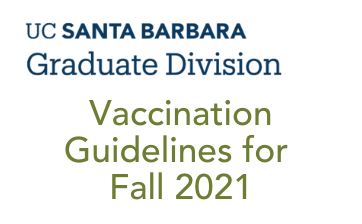 Vaccination Guidelines for Fall 2021